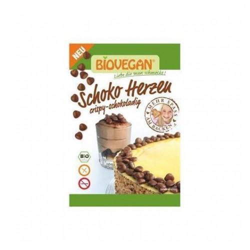 Corazones de chocolate. 35 gr.