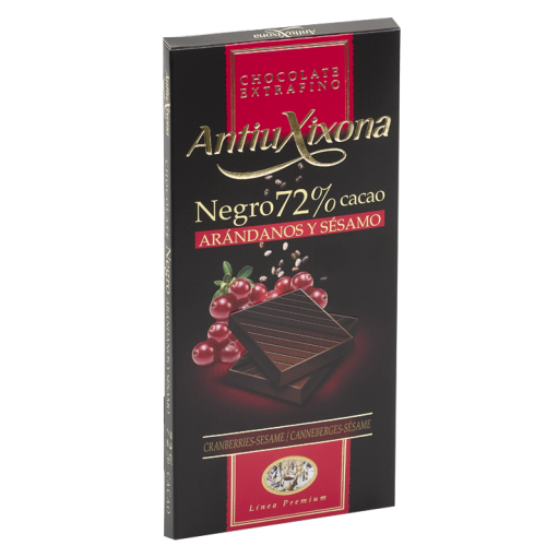 Chocolate Negro 72% Cacao,...