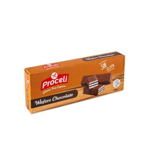 Wafers de Chocolate - 130 grs.