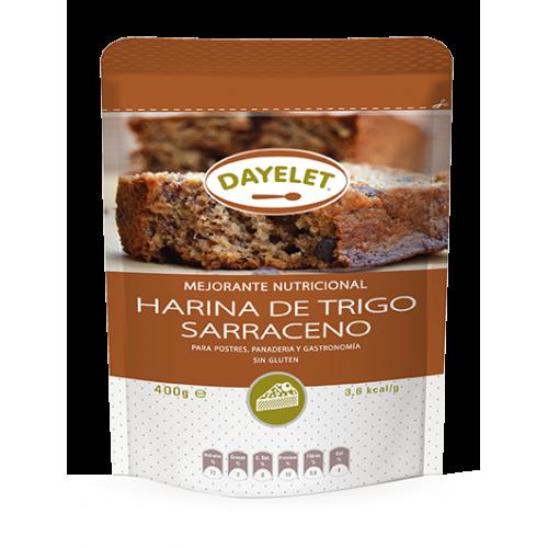 harina de trigo sarraceno...