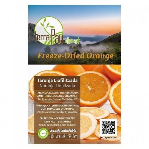 naranja liofilizada snack