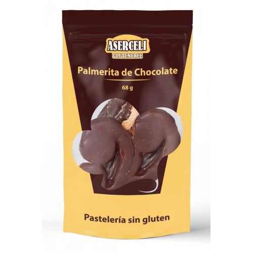 Palmerita de chocolate