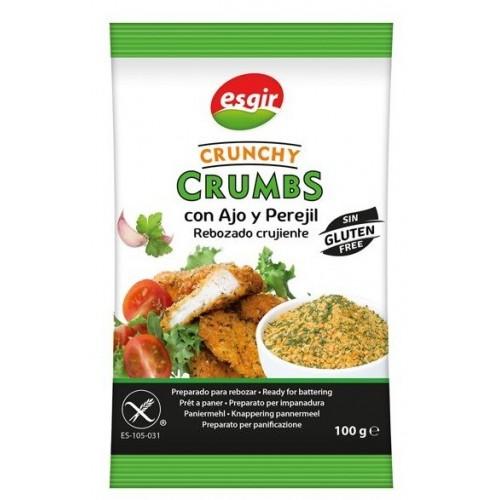 Crunchy Crumbs Ajo y...