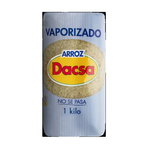 Arroz Dacsa Vaporizado, 1 kg