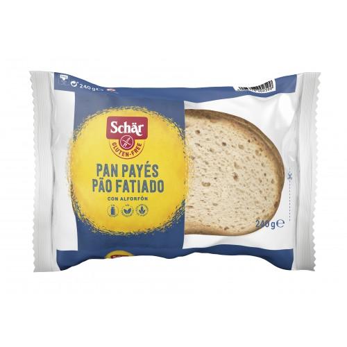Pão Payés Sem gluten Schär...
