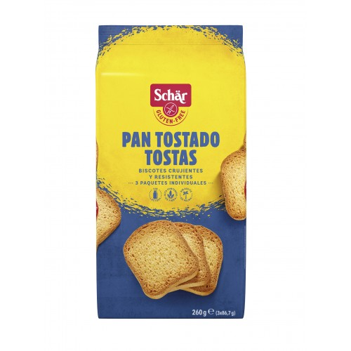Pan tostado - Tostas  260g....