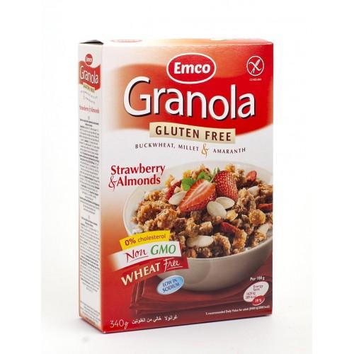 Granola Muesli con fresa y...