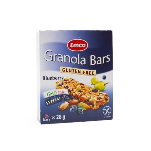 Granola Bars. Arándanos.