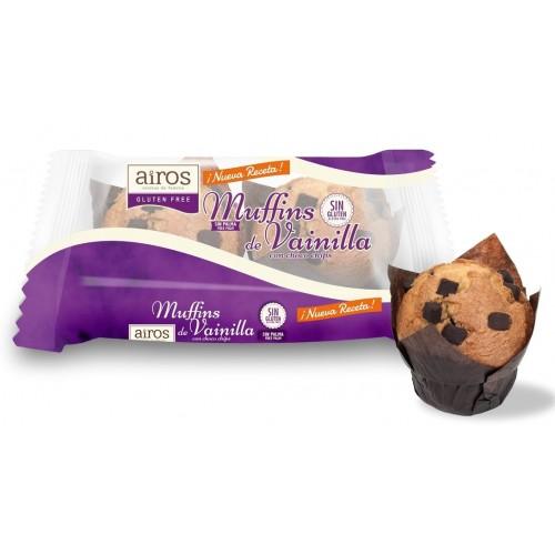 Muffins de Vainilla con...